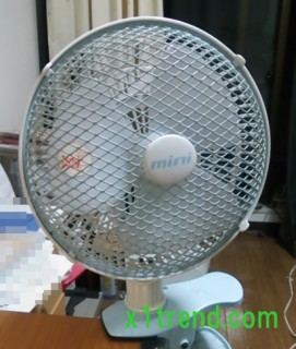 AC小型扇風機