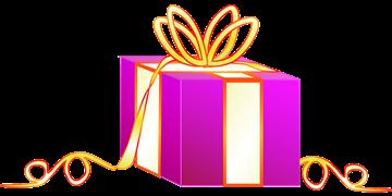 プレゼントの入った箱