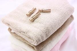 洗濯物タオル