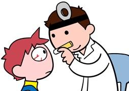 眼科で診察