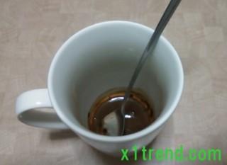 コーヒーを練る
