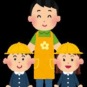 幼稚園児と母親