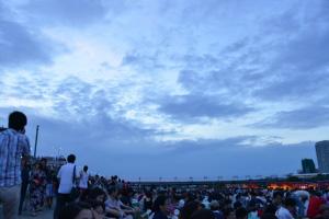 多摩川花火2